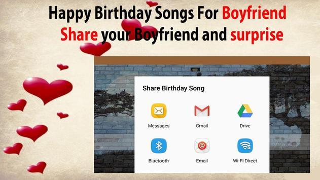 Happy Birthday Songs For Boyfriend screenshot 6