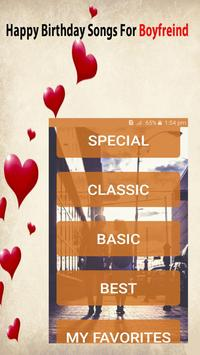 Happy Birthday Songs For Boyfriend poster