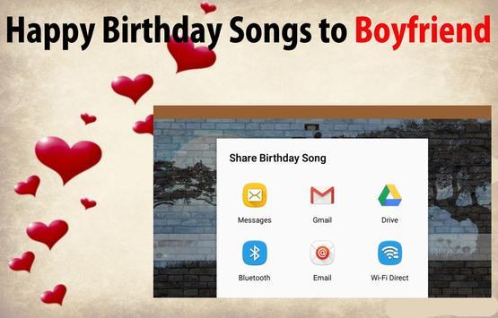 Happy Birthday Songs For Boyfriend screenshot 14