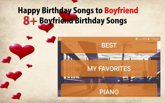 Happy Birthday Songs For Boyfriend screenshot 20