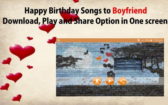 Happy Birthday Songs For Boyfriend screenshot 21