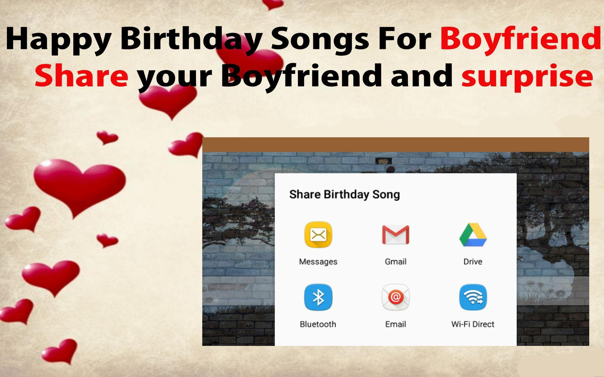 Happy Birthday Songs For Boyfriend For Android Apk Download