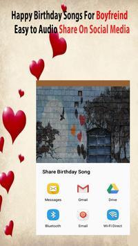 Happy Birthday Songs For Boyfriend screenshot 3