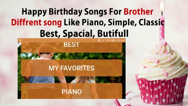 Happy Birthday Song For Brother screenshot 3