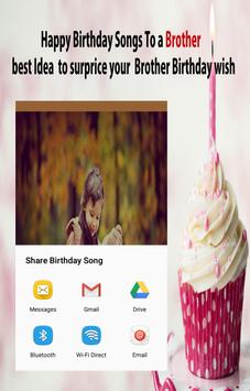 Happy Birthday Song For Brother screenshot 11