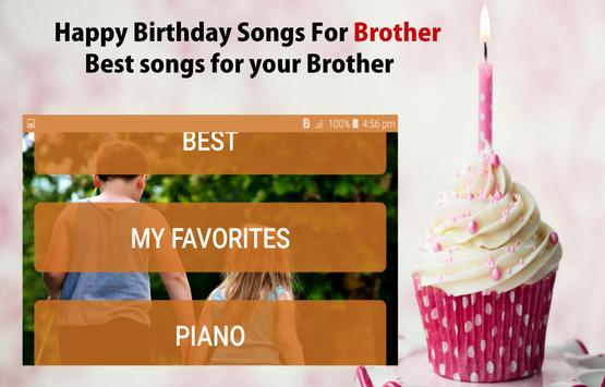 Happy Birthday Song For Brother screenshot 12