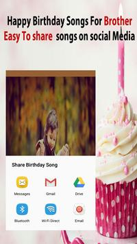 Happy Birthday Song For Brother screenshot 1