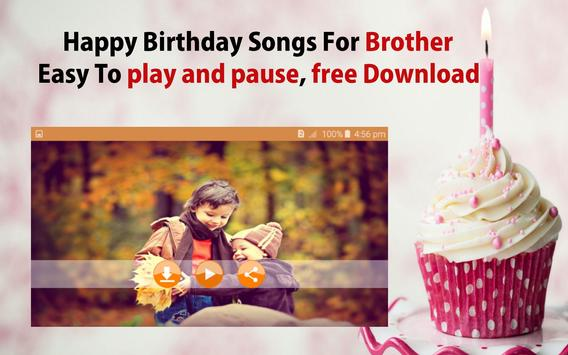 Happy Birthday Song For Brother screenshot 21