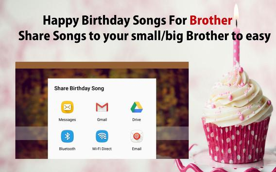 Happy Birthday Song For Brother screenshot 22
