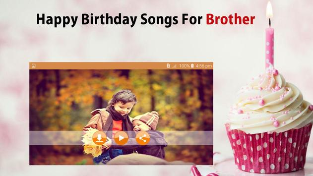 Happy Birthday Song For Brother screenshot 4