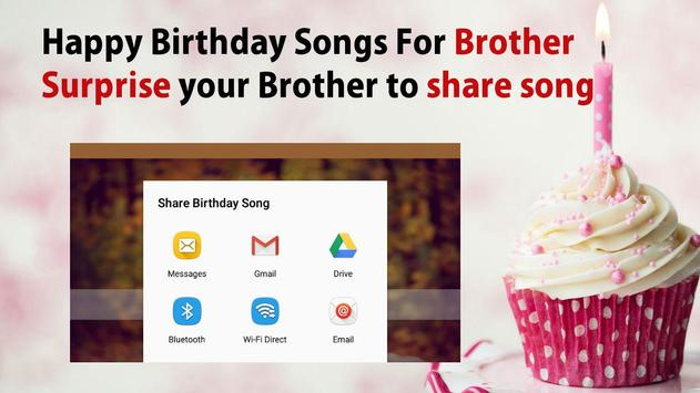 Happy Birthday Song For Brother screenshot 5