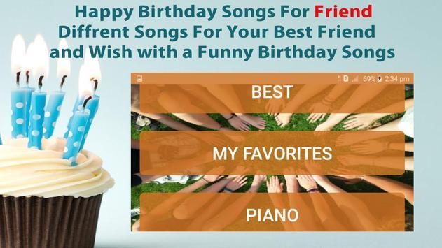 Happy Birthday Songs For Friends screenshot 4