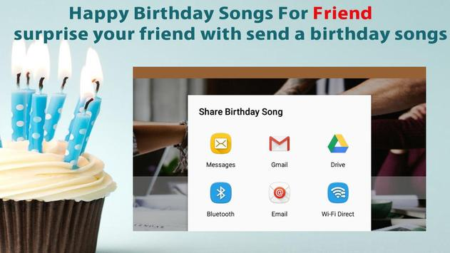 Happy Birthday Songs For Friends screenshot 6