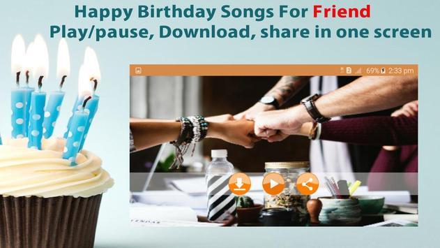 Happy Birthday Songs For Friends screenshot 7