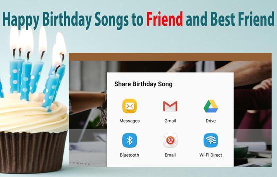 Happy Birthday Songs For Friends screenshot 10
