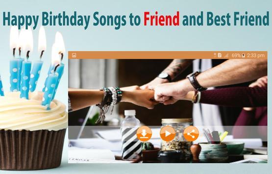 Happy Birthday Songs For Friends screenshot 12
