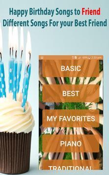 Happy Birthday Songs For Friends screenshot 15