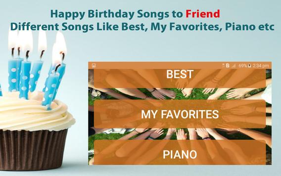 Happy Birthday Songs For Friends screenshot 19