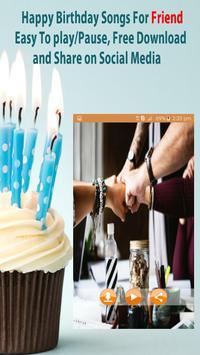 Happy Birthday Songs For Friends screenshot 1
