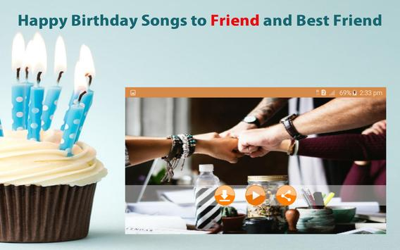 Happy Birthday Songs For Friends screenshot 20