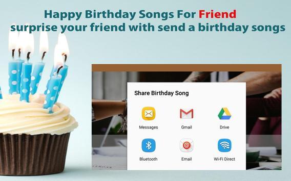 Happy Birthday Songs For Friends screenshot 21
