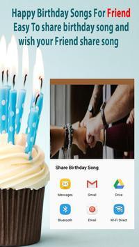 Happy Birthday Songs For Friends screenshot 2