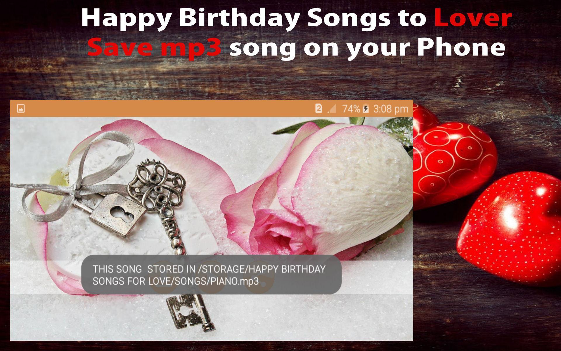 Joyeux Anniversaire Chanson Pour L Amour Pour Android