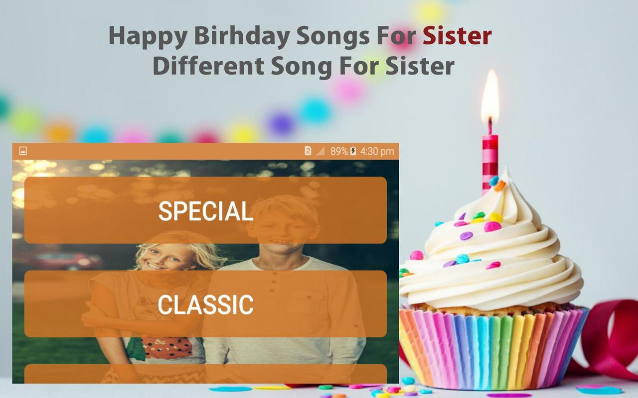 Happy Birthday Song For Sister For Android Apk Download