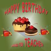 Happy Birthday Songs For Teacher icon