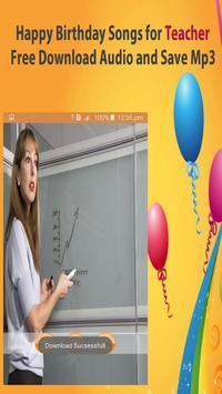 Happy Birthday Songs For Teacher screenshot 3