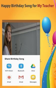 Happy Birthday Songs For Teacher screenshot 11