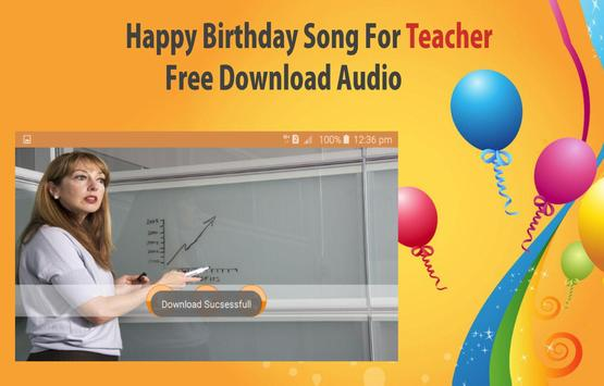 Happy Birthday Songs For Teacher screenshot 15