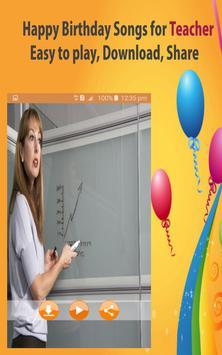 Happy Birthday Songs For Teacher screenshot 17
