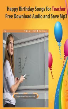 Happy Birthday Songs For Teacher screenshot 18