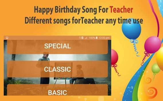 Happy Birthday Songs For Teacher screenshot 20