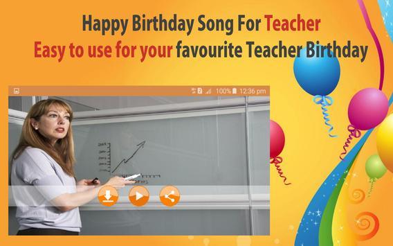 Happy Birthday Songs For Teacher screenshot 21