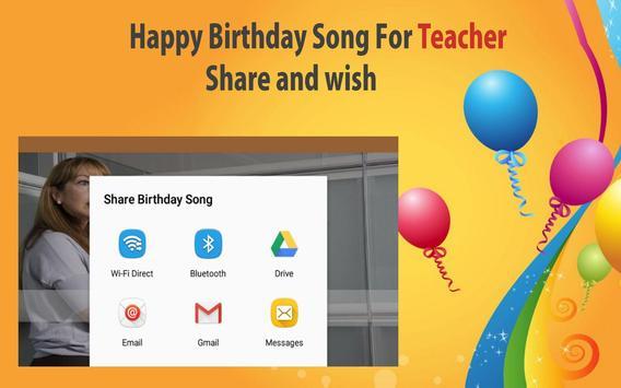 Happy Birthday Songs For Teacher screenshot 22