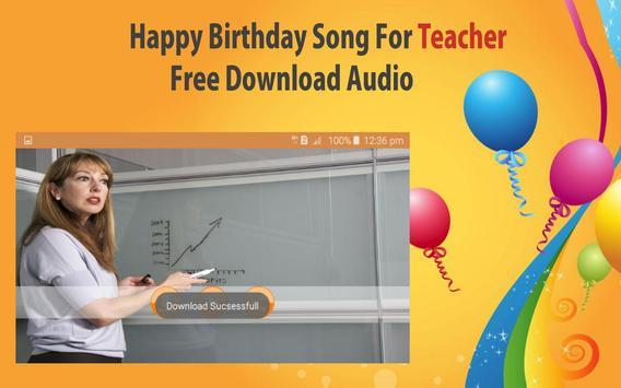 Happy Birthday Songs For Teacher screenshot 23