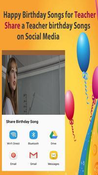Happy Birthday Songs For Teacher screenshot 2