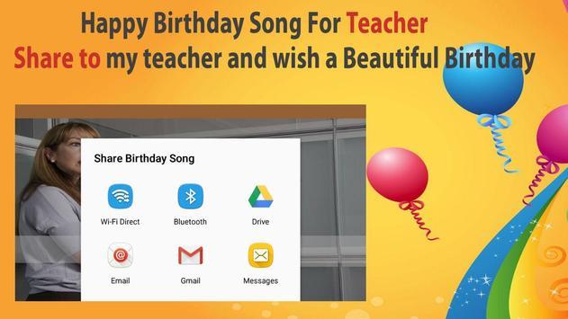 Happy Birthday Songs For Teacher screenshot 7