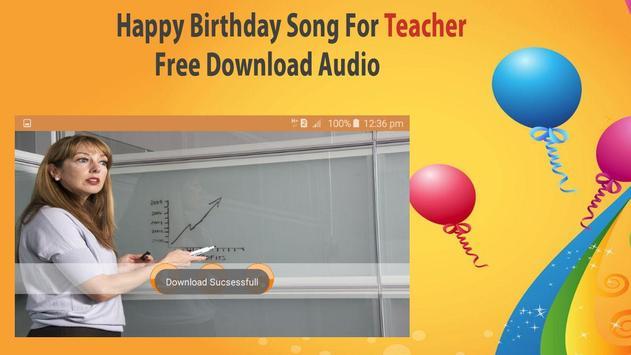 Happy Birthday Songs For Teacher screenshot 6