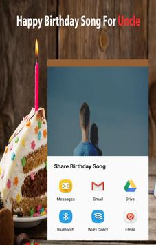 Happy Birthday Song For Uncle screenshot 11