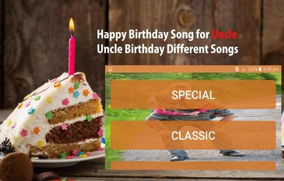 Happy Birthday Song For Uncle screenshot 12