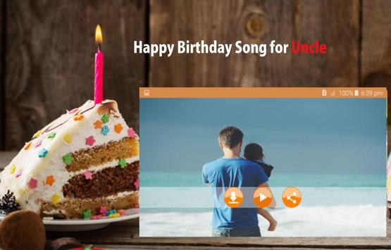 Happy Birthday Song For Uncle screenshot 13