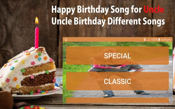Happy Birthday Song For Uncle screenshot 20