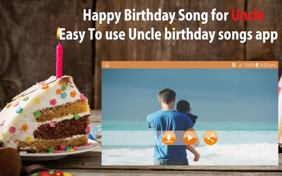 Happy Birthday Song For Uncle screenshot 21