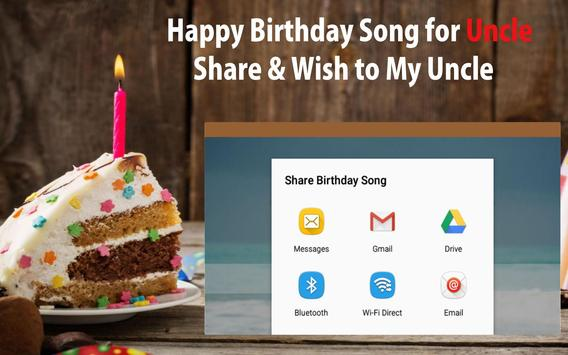 Happy Birthday Song For Uncle screenshot 23