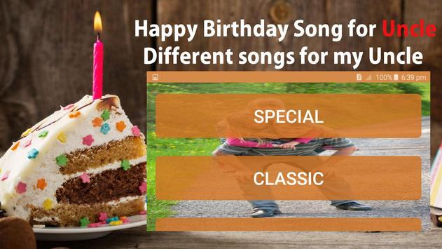 Happy Birthday Song For Uncle screenshot 5