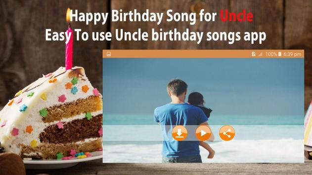 Happy Birthday Song For Uncle screenshot 6
