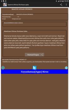 Baacoo Afaan Oromoo apk screenshot